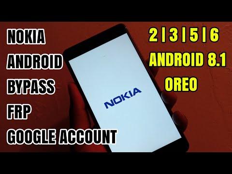 Nokia 8 | 6 | 5 | 3 Android 8.0.0 Oreo Bypass Frp Google Account No Box, No Firmware Latest 2018