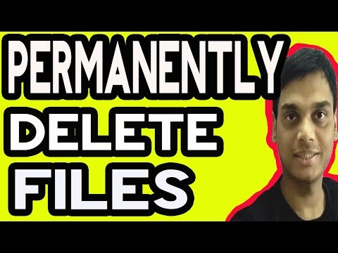 How to permanently delete files from computer/PC or Mobiles [Hindi]