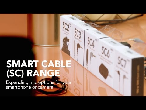 Smartphone Recording Options with RØDE Smart Cables