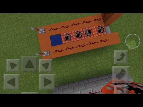 Minecraft PE: How to Make a TNT Cannon & Player Launcher Cannon
