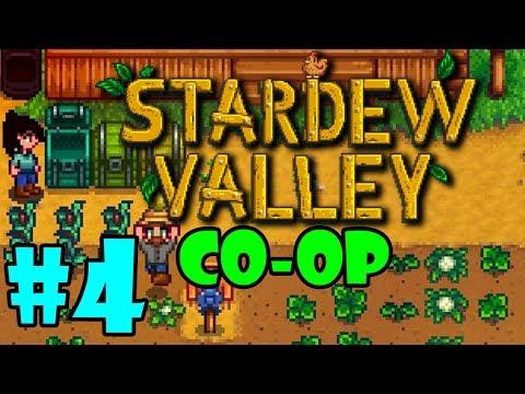 Stardew Valley MULTIPLAYER - BLIND Playthrough - Part 4 (Beta)