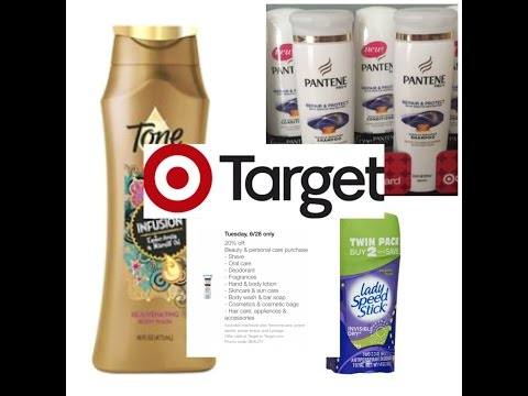Target Couponing..6/28 ONLY.. Grab 23 Items for only $2.76!