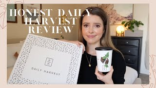 UNSPONSORED Daily Harvest Taste Test \u0026 Review   Is it Worth It?