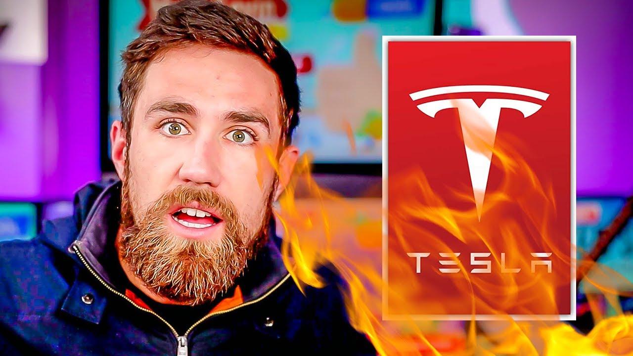 Tesla's Crash.