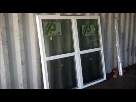 Ply Gem Window Mulbar Installation