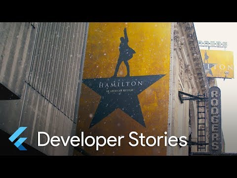 Hamilton app built with Flutter and featured on iOS and Android (Flutter Developer Story)