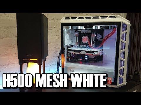 Coolermaster H500P Mesh White