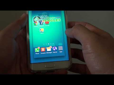 Samsung Galaxy S6 Edge: How to Change Home Screen Wallpaper Picture