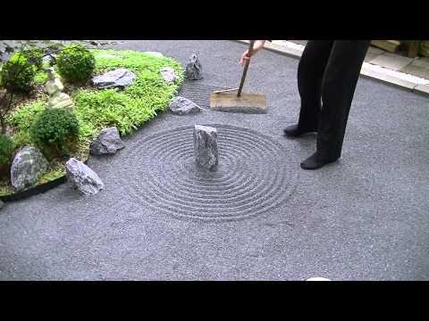 Japanese Zen garden / Meditation 禅の庭