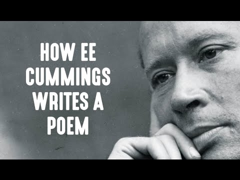 How E.E. Cummings Writes A Poem