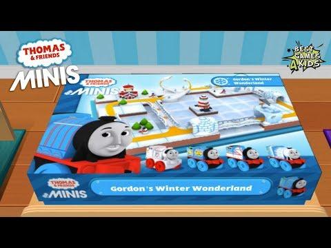 Thomas & Friends Minis #5 | UNLOCK EVERYTHING, Gordon's Winter Wonderland By Budge Studios