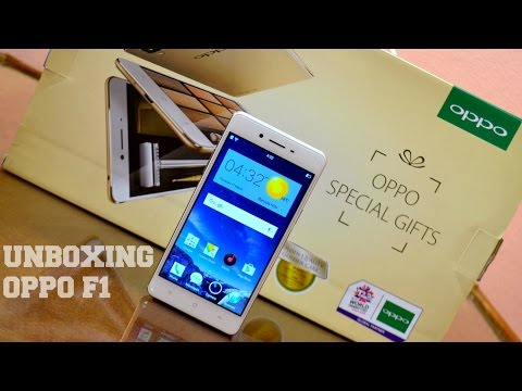 Oppo F1 Unboxing, Hands on & Impressions!