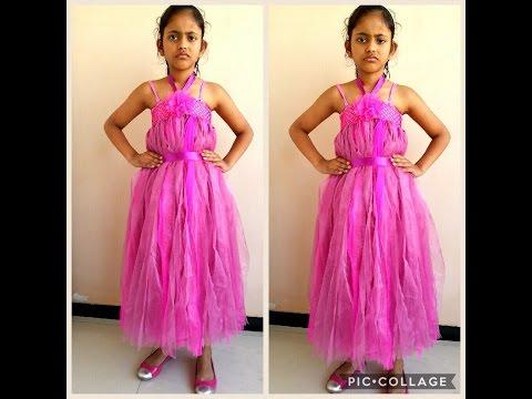 BABY GIRL TUTU DRESS TUTORIAL ( NO SEW )