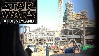 Disneyland - 12/19/17 Star Wars: Galaxy's Edge Construction view from Big Thunder Mountain Trail