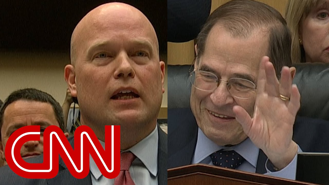 Audible gasps as Matthew Whitaker clashes with chairman