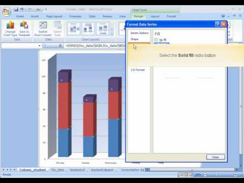 Creating a Column Chart in Excel - University of Saskatchewan - Training Services