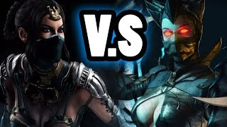 Mortal Kombat X -  Kitana VS Dark Empress Kitana Battle!