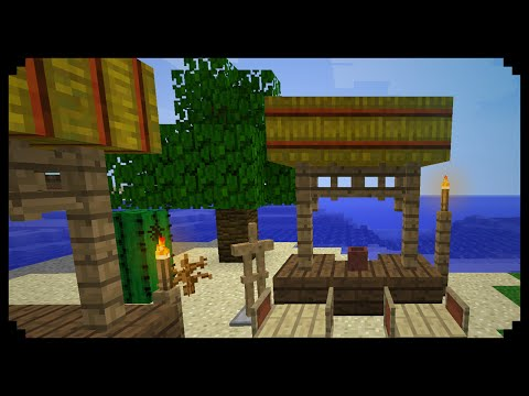 ✔ Minecraft: How to make a Tiki Bar