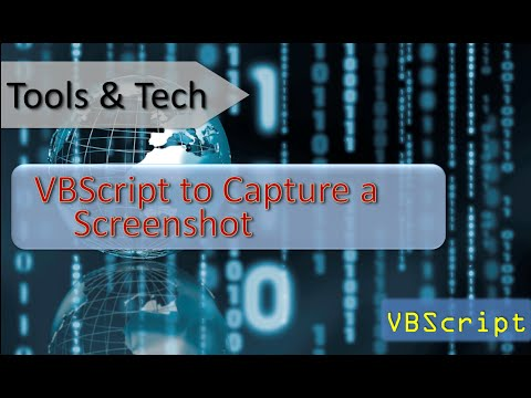 VBScript take a screen shot and save it as a .jpg