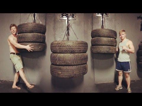 Muay thai / Boxing Tyre Bag - Explosive Fitness