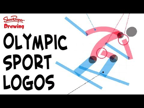 The Sport Pictogram Designs for Peyongchang 2018 Winter Olympics