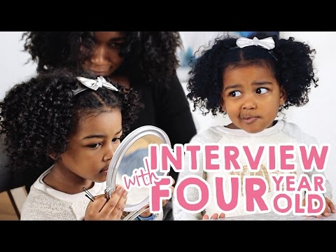 Interview With a 4 Year Old | Natural Hair