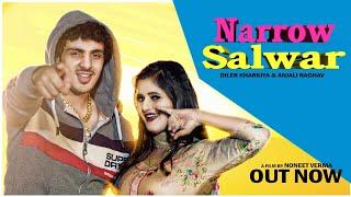 Narrow Salwar | Diler Kharkiya Anjali Raghav (Official Video) Latest Haryanvi Song 2019 |