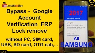 Any Samsung Device FRP Bypass 100% Working - How to Bypass