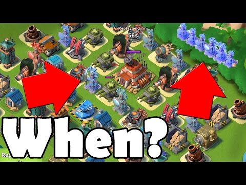 When You Should Get Ice Statues/Masterpieces!! | Boom Beach
