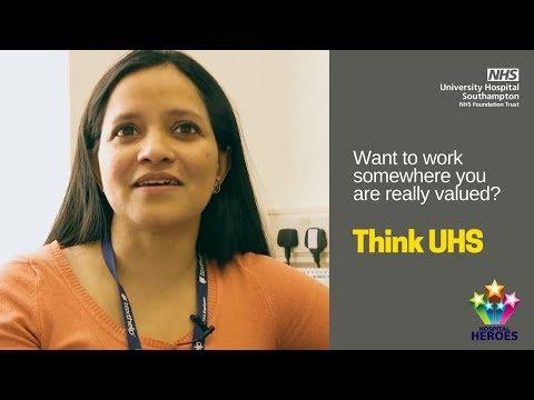 UHS Jobs | Hospital Heroes 2015 - Daily Echo reader's choice award