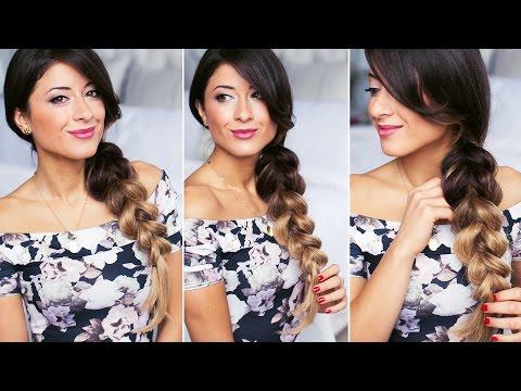 Pull-Through Side Braid Hairstyle