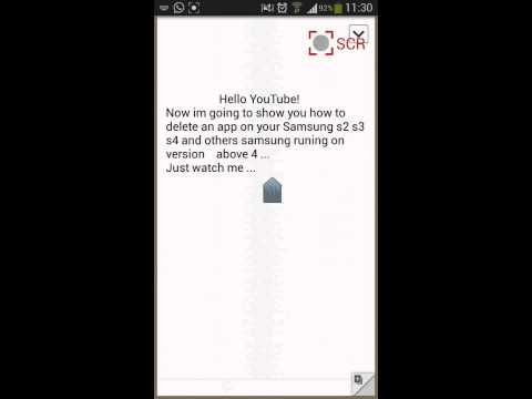 How to delete apps on Samsung S2 S3 S4 and others
