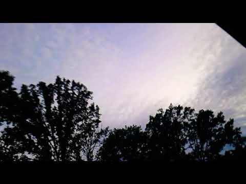 Bizarre cloud formation