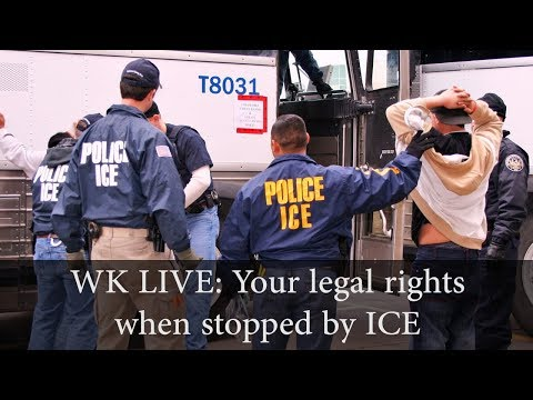 Stopped by ICE: What are Your Rights?