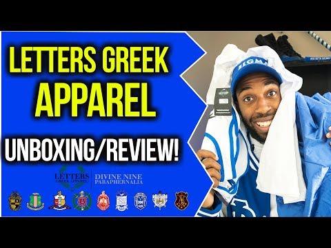 LETTERS GREEK APPAREL UNBOXING/REVIEW! | NPHC ADVICE
