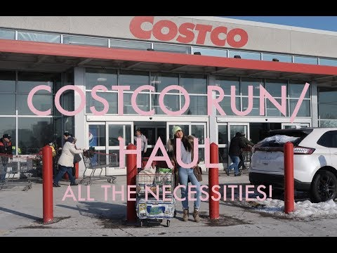 COSTCO RUN & HAUL! ALL THE NECESSITIES..IN AND OUT IN 30 MINS!