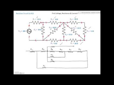 Series Parallel Combination Circuit #19