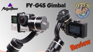 Feiyu-Tech FY-G4S 3 Axis GoPro Gimbal with 360 Motors! + Sample Footage : REVIEW