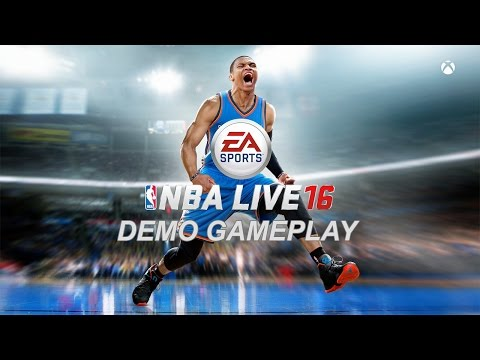 NBA Live 16 Demo: Clippers VS Warriors - 1st Half (Xbox One Gameplay, Playthrough)