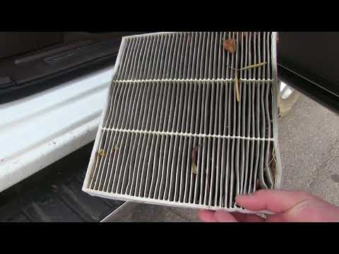 Sierra/Silverado Cabin Air-Filter Replacement How-To