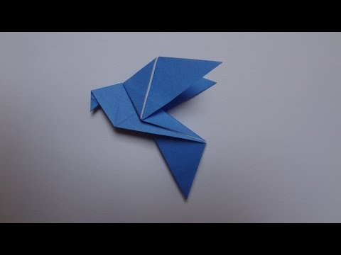 How to make an Origami Dove (HD)