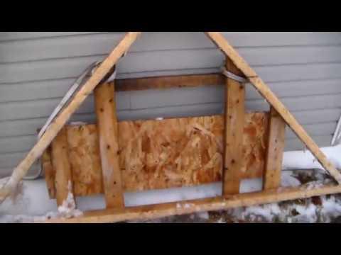DIY ATV SNOW DRAG / PLOW CHEAP & SIMPLE $$
