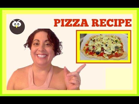 Diabetic Pizza Recipe (Vegan) | How to Make oil Free Pizza Dough