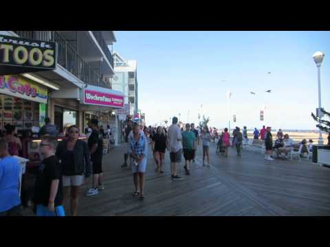 Ocean City Maryland Wooden Boardwalk
