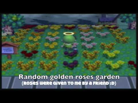 Animal Crossing City Folk - Huge Hybrid Garden