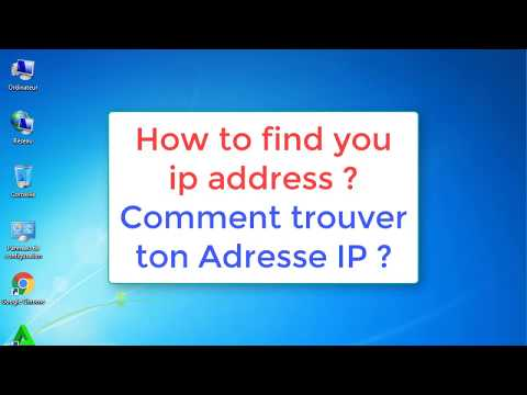 How to Find Your IP ADDRESS & Mac ADDRESS | Comment trouver ton @ IP et @ MAC (Physique)