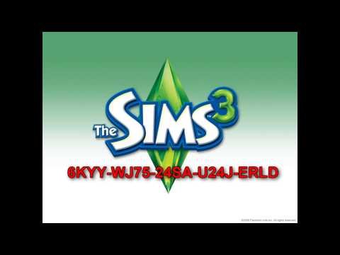 The Sims 3 registration  code