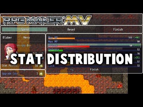 Stat Distribution Plugin - RPG Maker MV