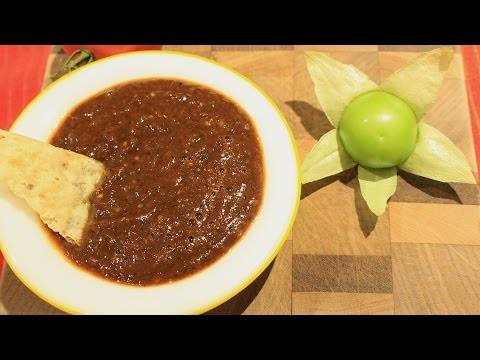 Chipotle Salsa With Roasted Tomatillos - Tomatillo Recipes