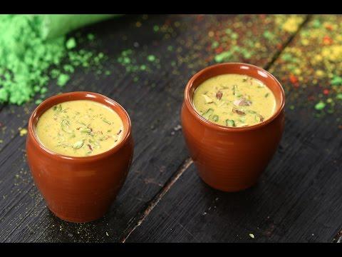Thandai | Holi Special Recipe | Sanjeev Kapoor Khazana